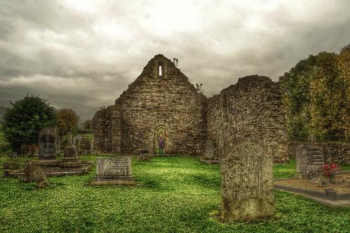 Ancient Graveyard, Killeshin, Co. Laois, Ireland (HDR)