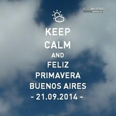 Feliz Primavera para Todos!!  Que podamos renacer a una Vida Nueva!!  Via Instaweather  Free App! @instaweatherpro #instaweather #instaweatherpro #weather #wx #android  #buenosaires #argentina #day #winter #clouds #evening #ar #igers #instagramers #iglesi