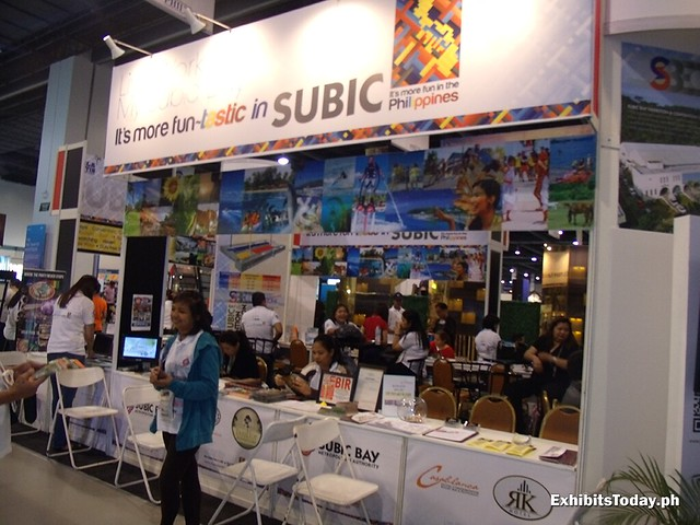 Subic Exhibit Booth