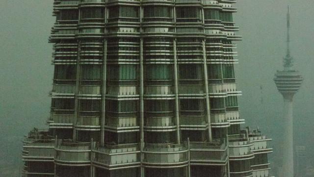 Petronas Tower with Menara KL
