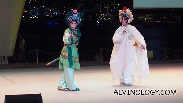 Legend of the White Snake opera performance