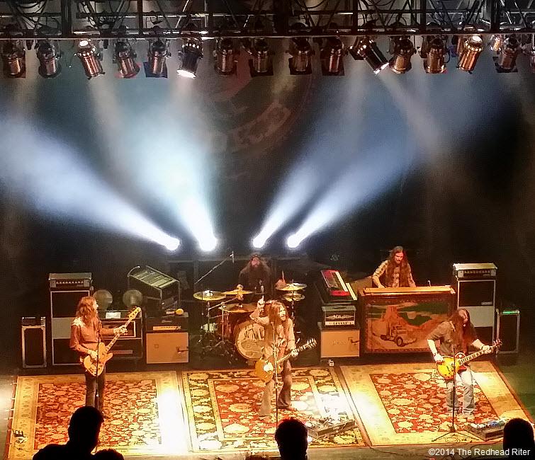 Blackberry Smoke Southern Rock Concert, Richmond, Virginia  20140115_220602