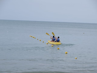 Kayak en decameron resort panamá