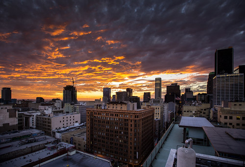 california ca sunset losangeles downtown dtla downtownlosangeles historiccore
