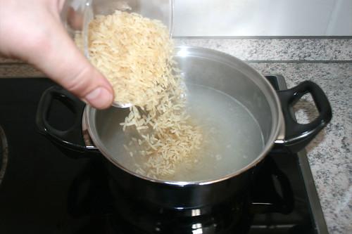 17 - Reis hinzu geben / Add rice