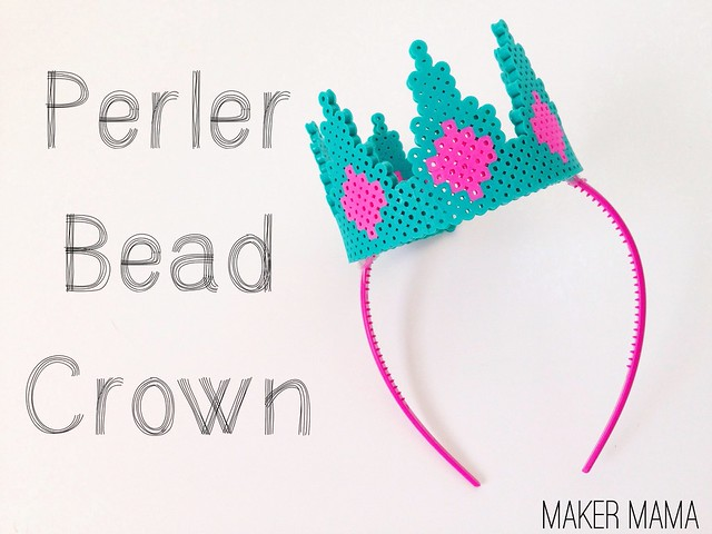 Perler Bead Crown