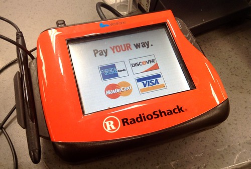 Radio Shack Credit Card