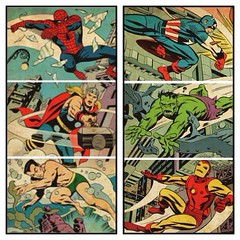 A mighty Marvel mural! #comics