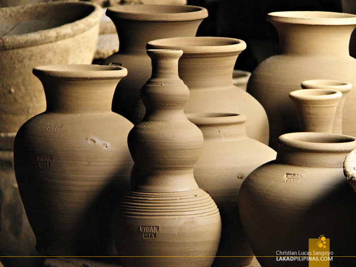 Burnay Jars at Pagburnayan in Vigan City