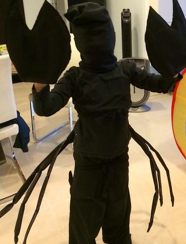 scorpion dressup