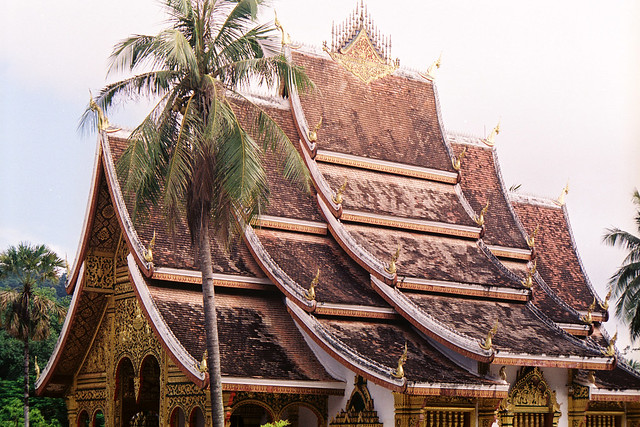 The Former Royal Palace, now National Museum, Luang Prabang