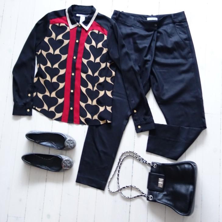 Flatlay outfitbilder