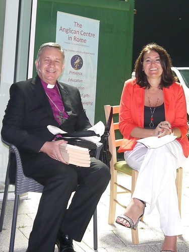 11 Archbishop Moxon with Global Freedom Network CEO Antonia Stampalija