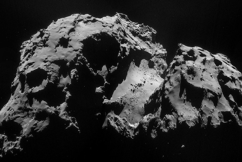 Comet 67P on 24 September – NavCam