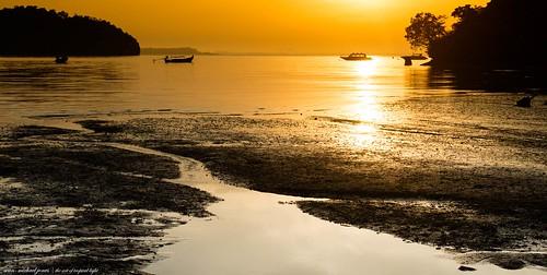 travel sunset sea holiday sunrise thailand photography hotel islands landscapes paradise seascapes images resort exotic beaches tropical krabi railay theartoftropicallight