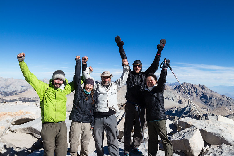 We finished the JMT!