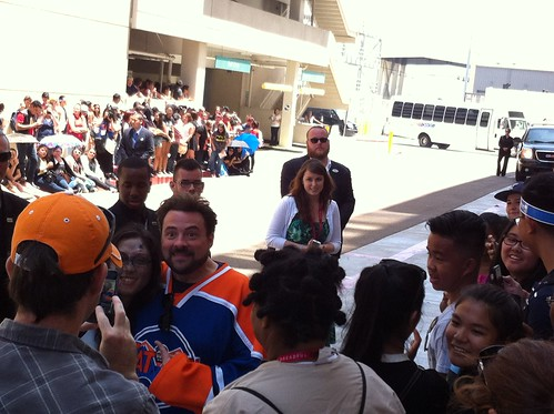 Kevin Smith sayin hey.