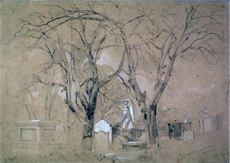 St David's Cemetery / John Skinner Prout