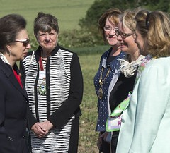 Princess Royal opens woodland marking First World War centenary
