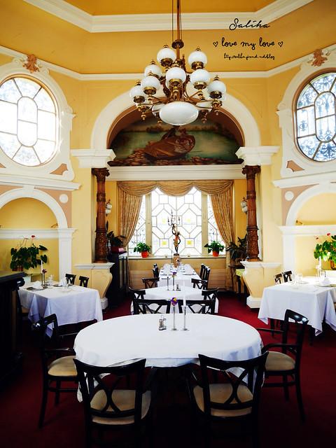 Hanavsky Pavilon交饗情人夢布拉格絕美景觀餐廳下午茶 (24)