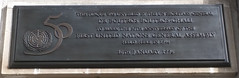 Photo of Boutros Boutros-Ghali plaque