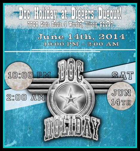 Doc Holiday 6-14-14