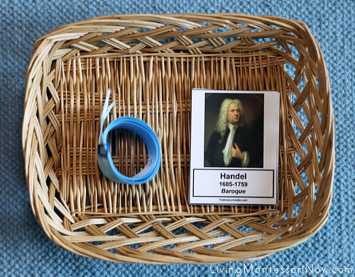 Baroque Composers Timeline Basket