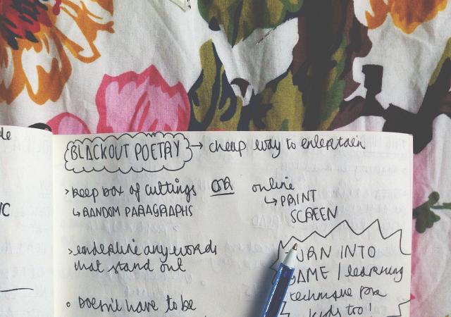 blackout poetry vivatramp