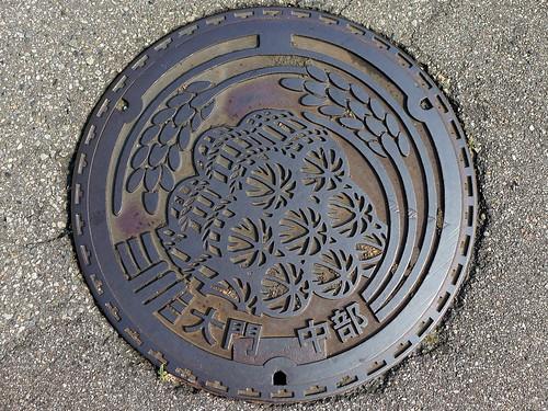 Daimon Toyama, manhole cover 2 (富山県大門町のマンホール2)