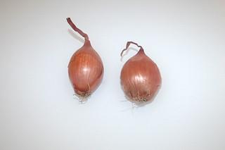 09 - Zutat Schalotten / Ingredient shallots