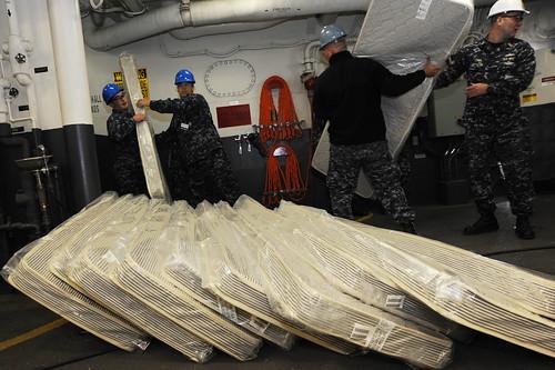 Moving mattresses