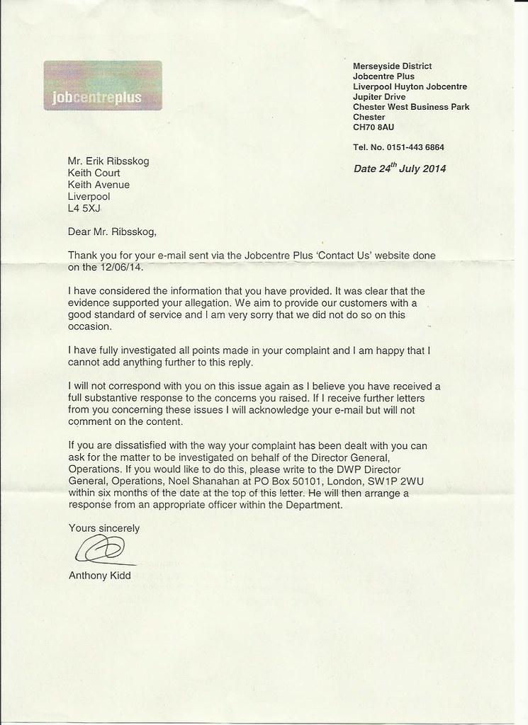 jcp letter