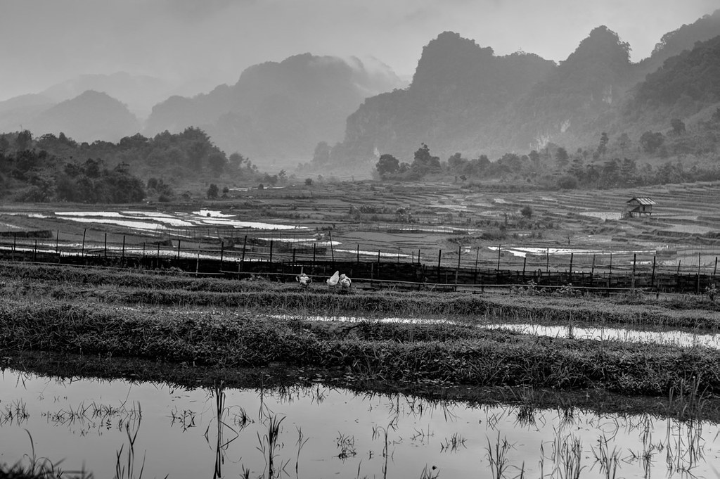 Motorcycling through Laos