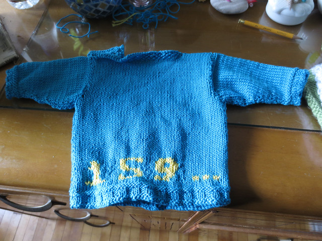 Pi Baby Sweater