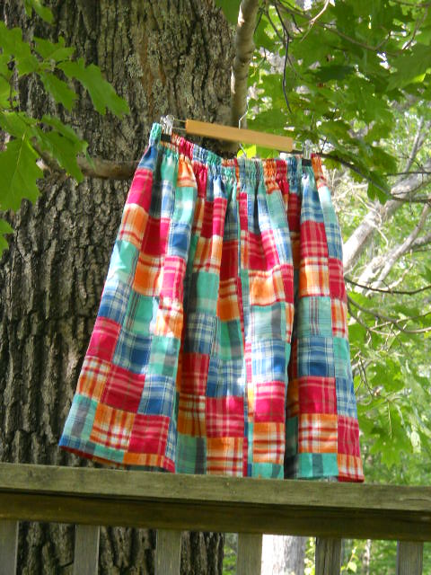 skirt in tree