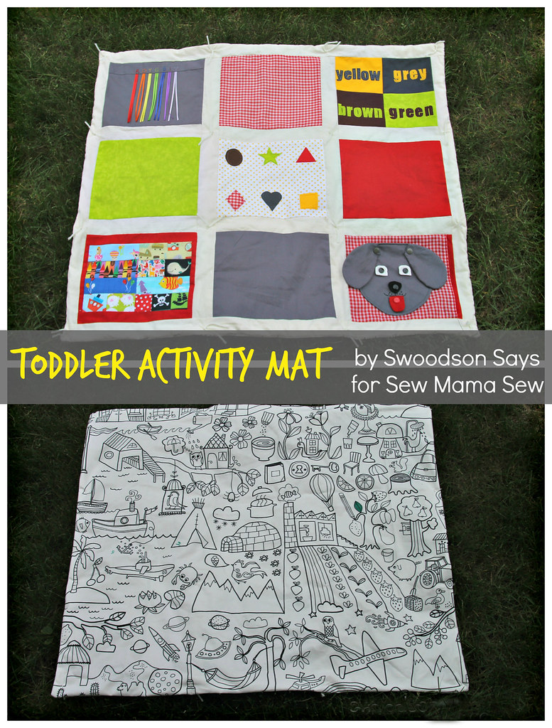 Toddler Activity Quilt - Swoodson Says