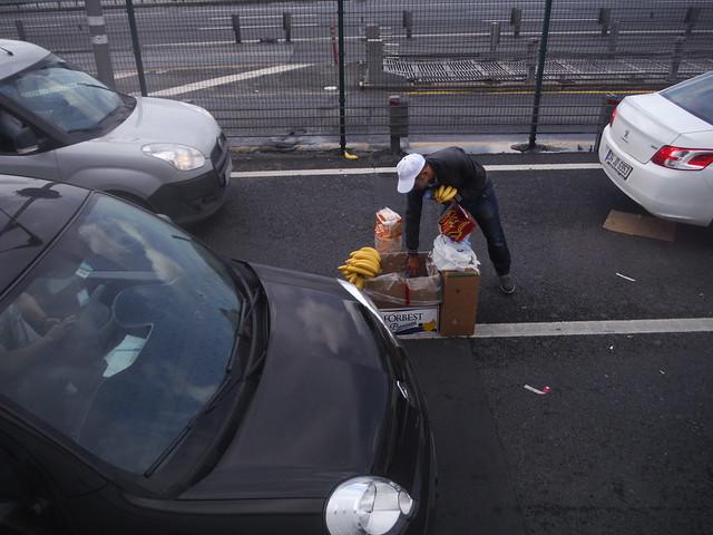 Istanbul street vendor