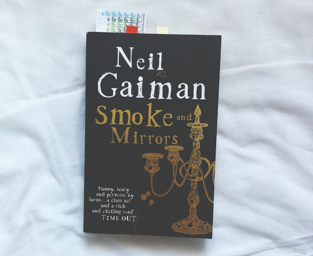 smoke and mirrors neil gaiman book tag on my shelf lifestyle blog vivatramp