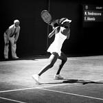 Francoise Abanda at Wimbledon 2014