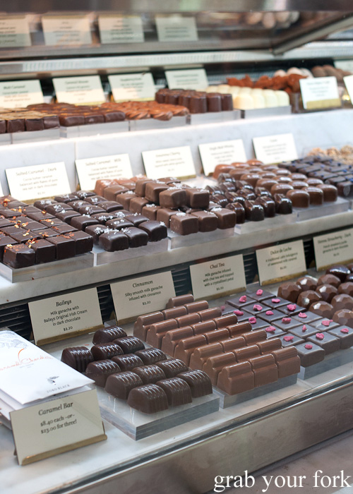 Chocolates by Koko Black at Queen Victoria Market, Melbourne