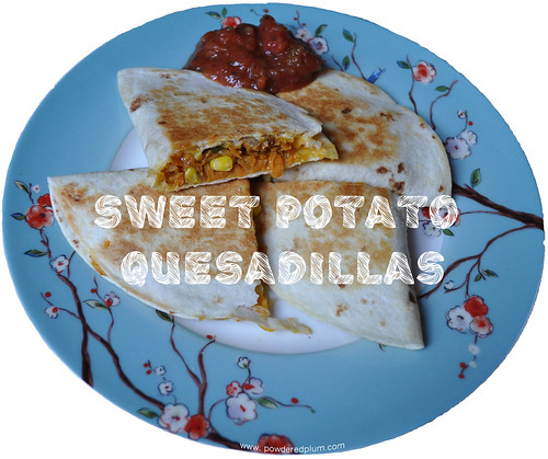 Vegan Sweet Potato Quesadillas