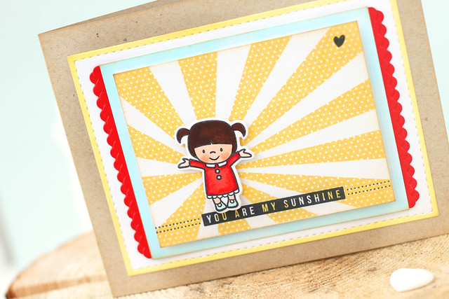 my sunshine {mama elephant stamp highlights}