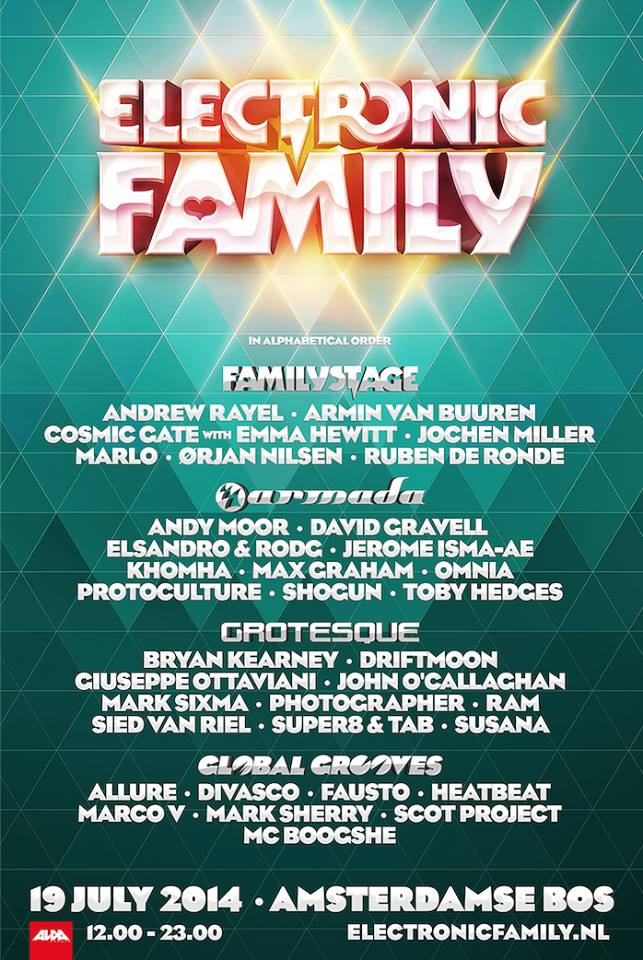 cyberfactory 2014 electronic family trance festival amsterdamse bos nederland