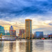 Baltimore Harbor at Sunset by Cdcrews01