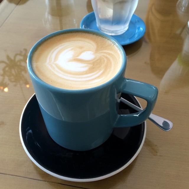 Caramel macchiato for tea #cafe