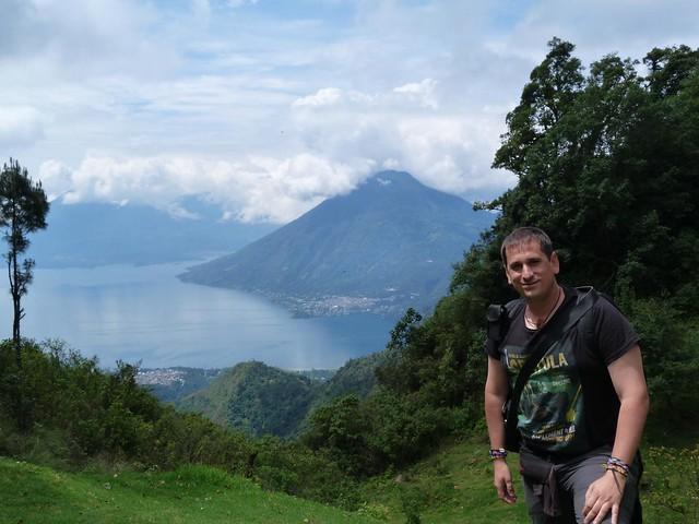 Sele en el Lago Atitlán (Guatemala)