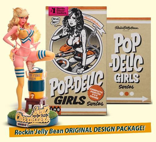【追加購買特典 & 包裝圖片!】WING - POP DELICGIRLS 系列第一彈『惡魔啦啦隊』