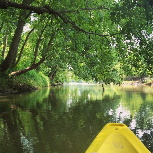 Found Solitude #kayaking #water