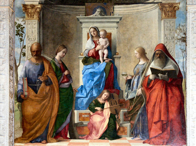 LADYLAND - San Zaccaria Altarpiece by Giovanni Bellini