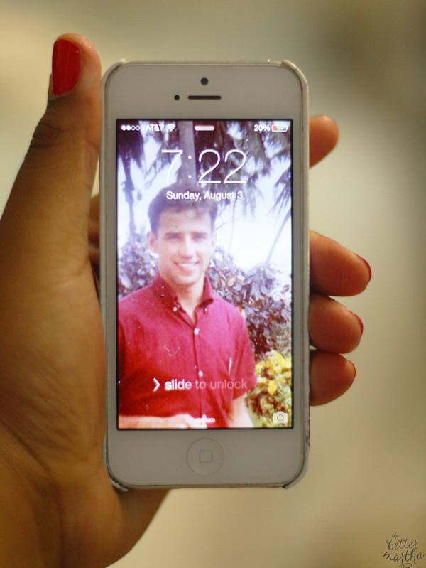 Joe Biden Phone Lock Screen